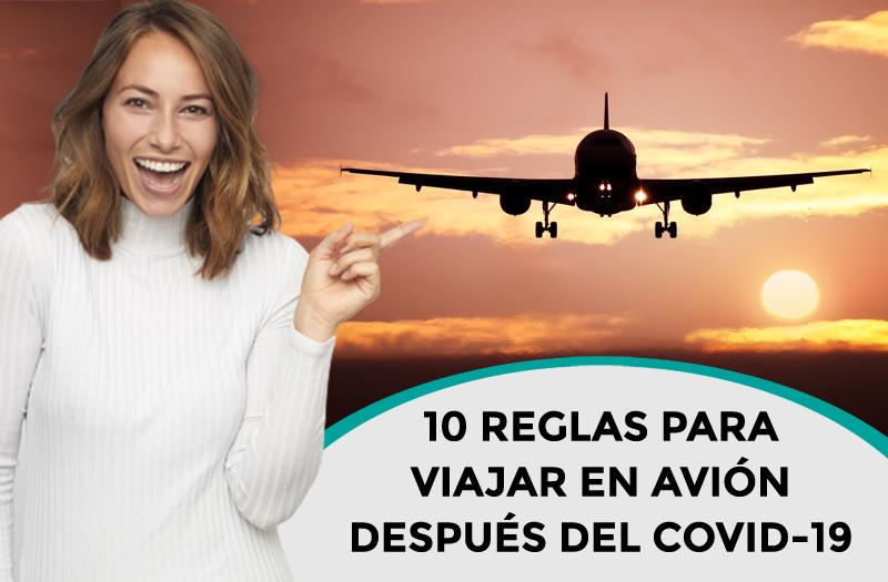 Consejos de viaje Reglas para volar seguro después de Covid-19